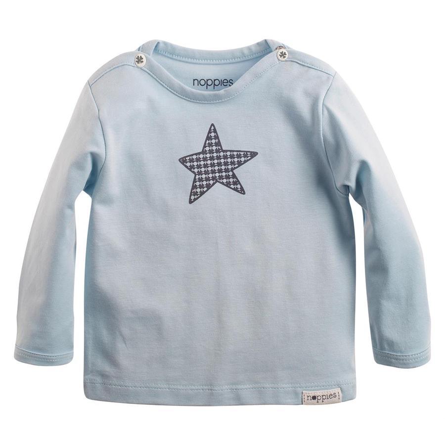 noppies Koszula z długim rękawem Monsieur Grey Blue
