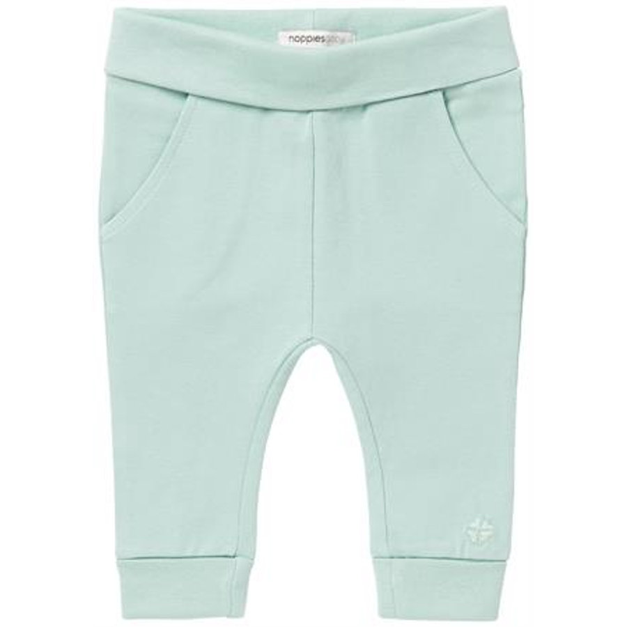 NOPPIES Newborn Pants grey mint