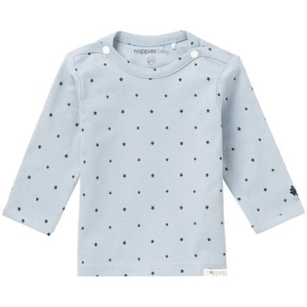 noppies Newborn Longsleeve Novara grey blue