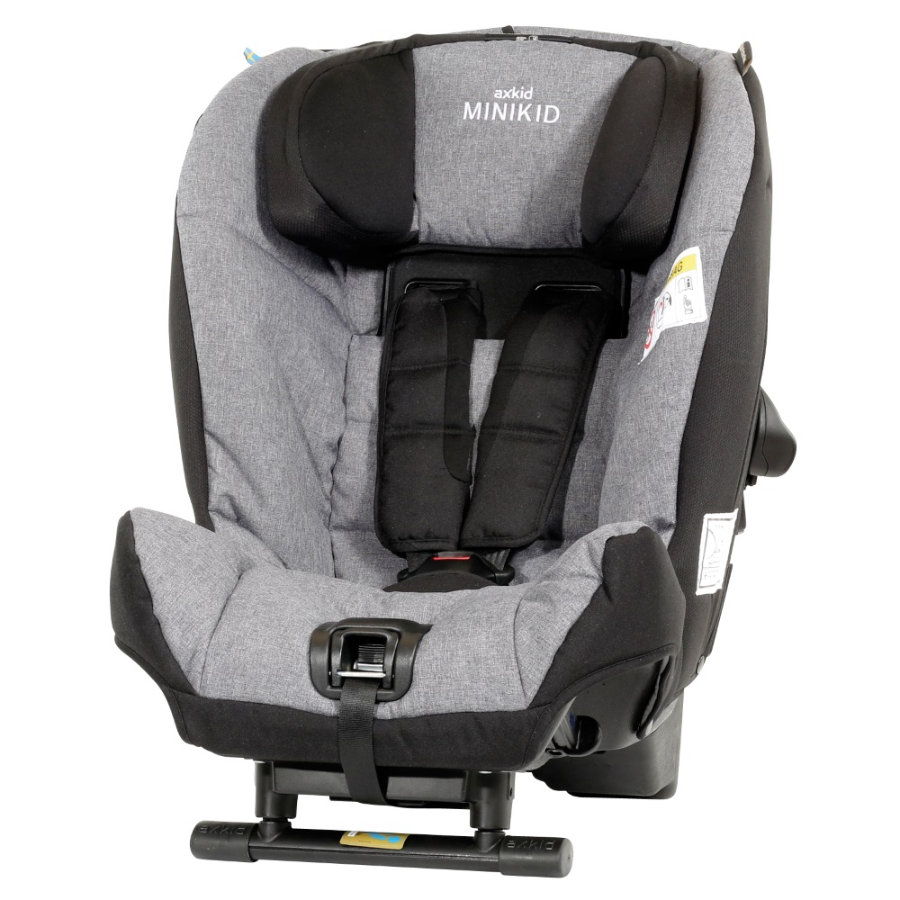 AXKID Kindersitz Minikid New Edition Grau