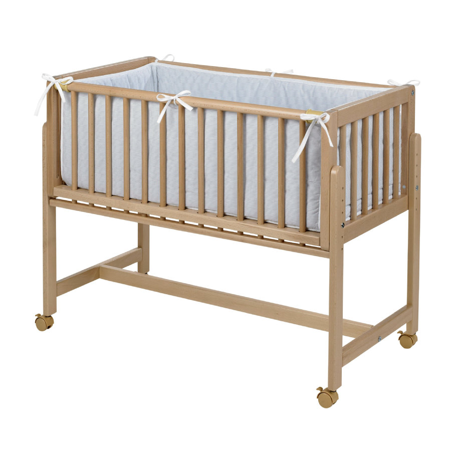 GEUTHER Lettino co-sleeping Betty legno naturale