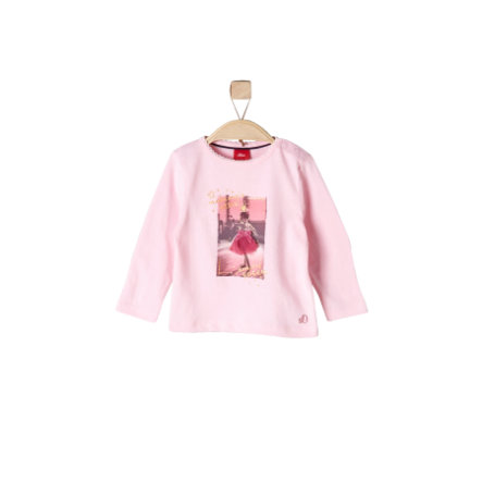 s.Oliver Girls Longlseeve light pink