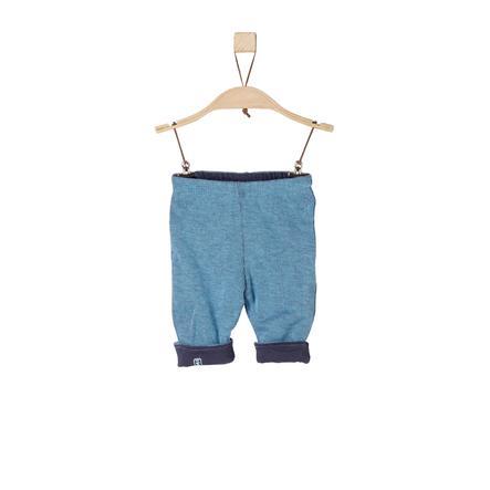 s.OLIVER Boys Pantalon bleu mélangé