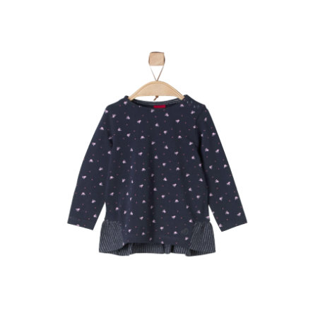 s.Oliver Girls Longlseeve dark blue
