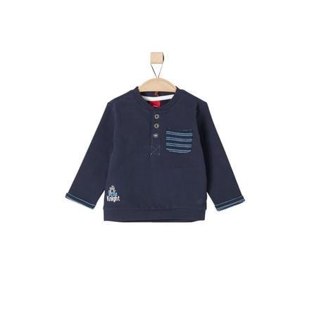 s.OLIVER Boys Bluza bluza granatowa, ciemnoniebieska.