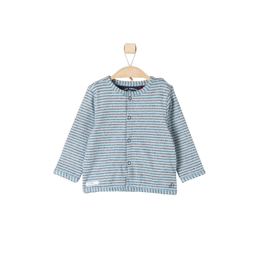 s.OLIVER Boys Sweatjacke blue stripes