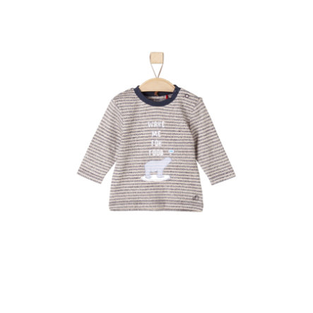 s.Oliver Boys Longsleeve brown stripes