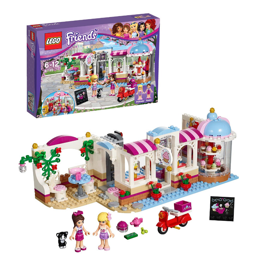 LEGO Friends Heartlakes cupcakecafe 41119