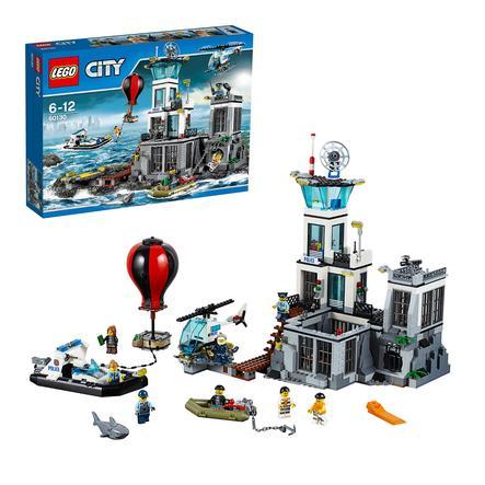 LEGO® City - La caserma della polizia dell´isola 60130