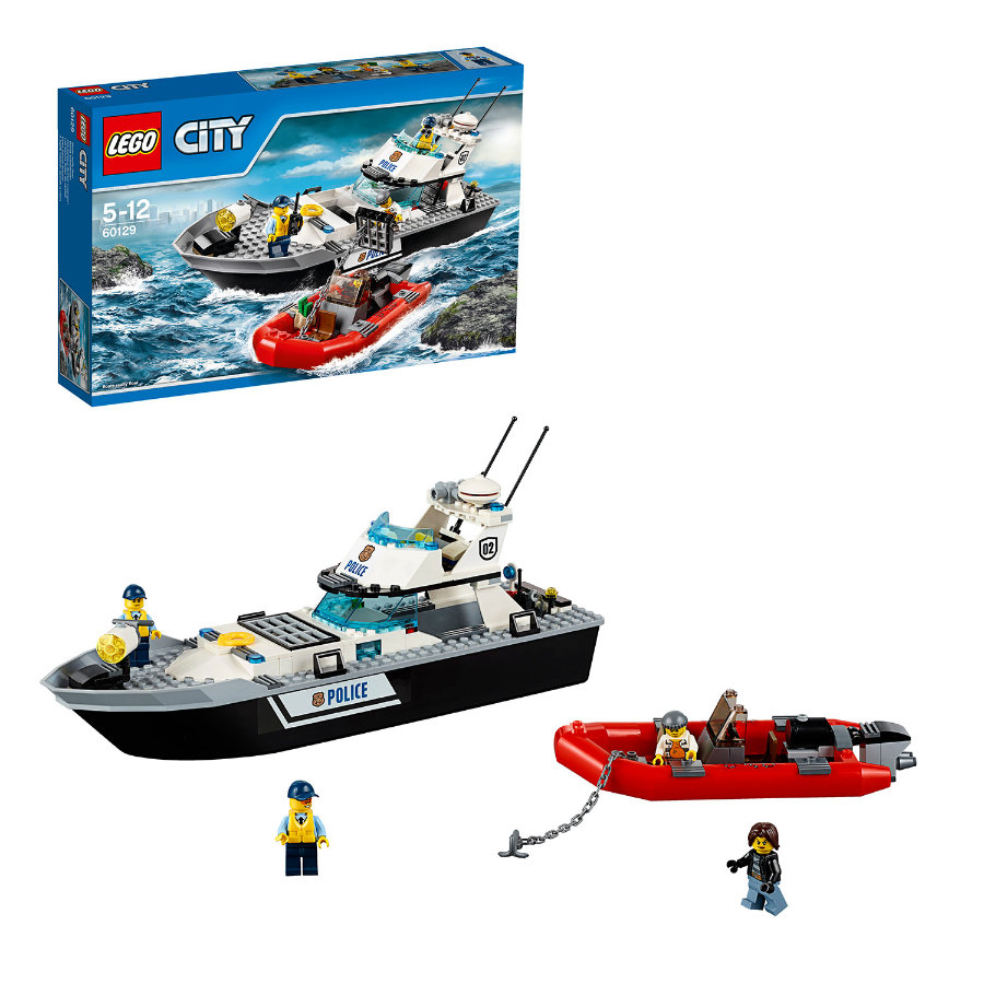 LEGO® City - Polizei-Patrouillen-Boot 60129