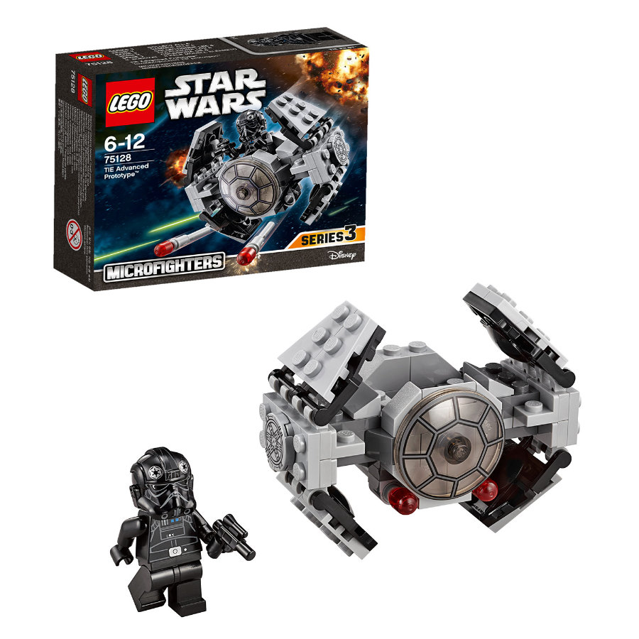 LEGO® Star Wars™ - TIE Advanced Prototype™ Microfighter 75128