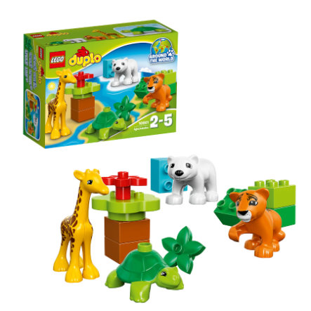 LEGO® DUPLO® Wildlife – Jungtiere 10801