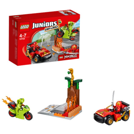 LEGO® JUNIORS - L'attaque du serpent NINJAGO 10722