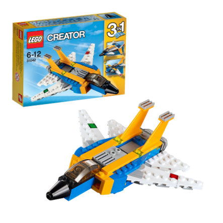 LEGO® Creator - L'avion à réaction 31042