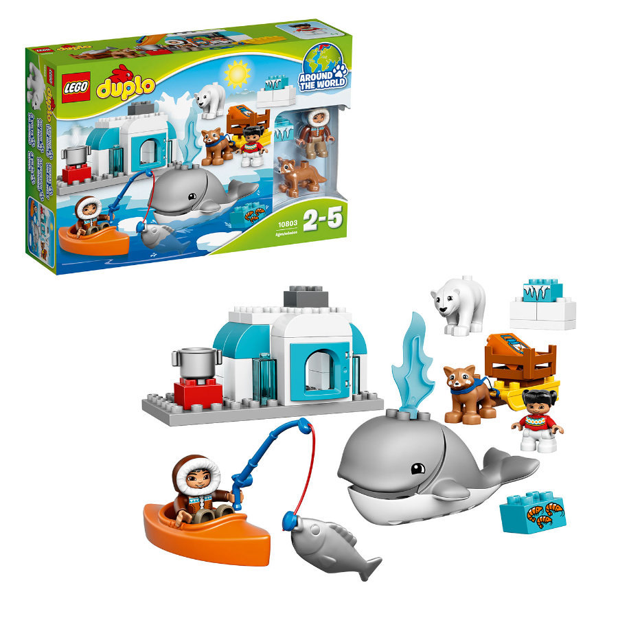 LEGO® DUPLO® Wildlife – Poolgebied 10803