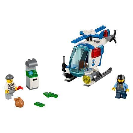LEGO® JUNIORS - La poursuite en hélicoptère de police 10720