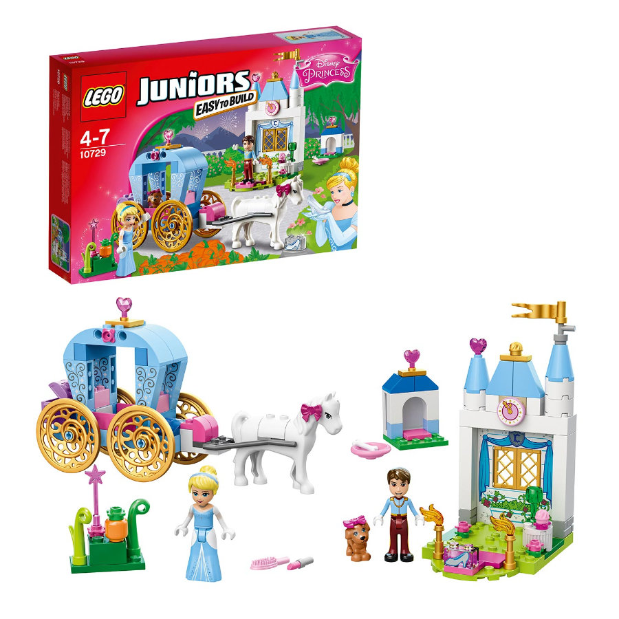 LEGO® JUNIORS - Askungens vagn 10729