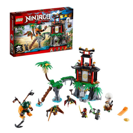LEGO® NINJAGO - Tiger Widow eiland 70604
