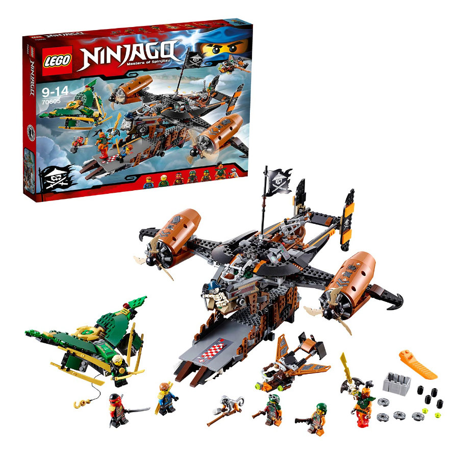 LEGO® NINJAGO - Luftschiff des Unglücks 70605