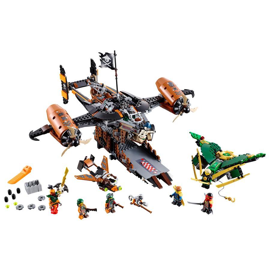 LEGO® NINJAGO - Smolná tvrz 70605