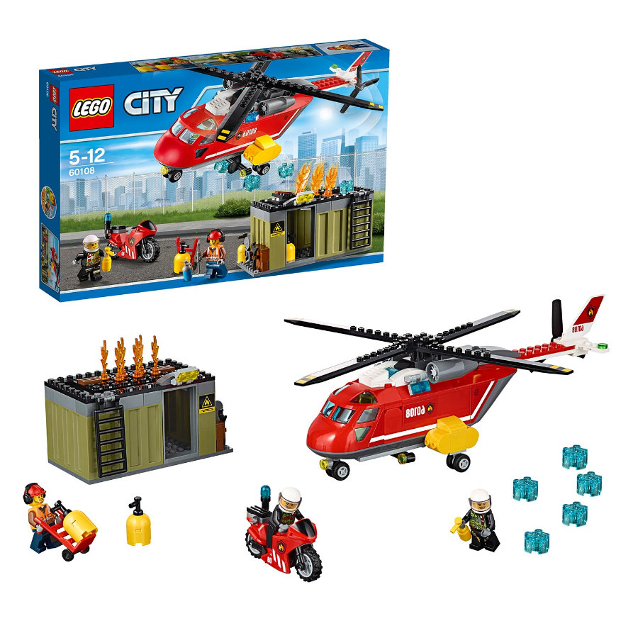 LEGO® City Unità di risposta antincendio 60108
