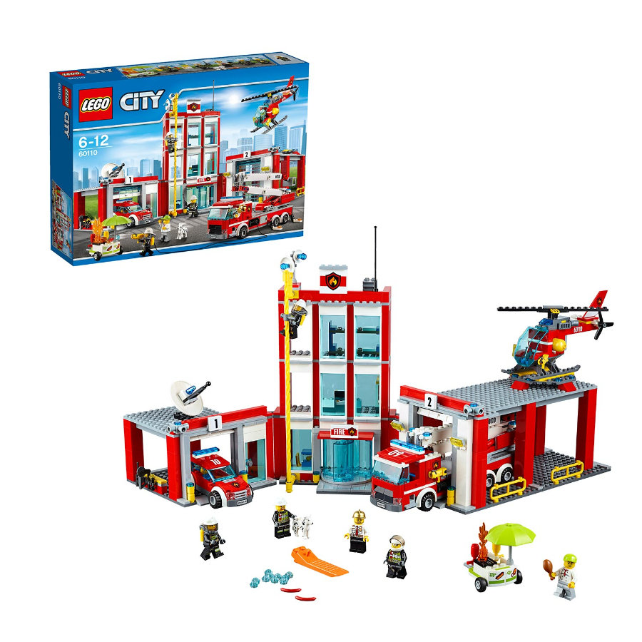 LEGO® City - Remiza strażacka 60110
