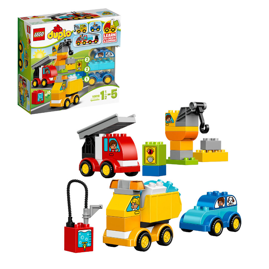 LEGO® DUPLO® - Moje první autíčka a náklaďáky 10816