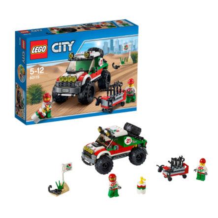 LEGO® City - Fyrhjulsdriven terrängbil 60115