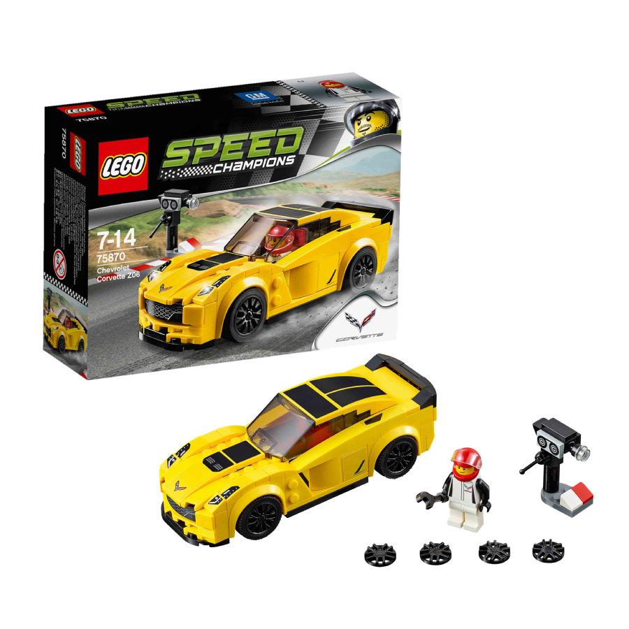 LEGO® SPEED CHAMPIONS - Chevrolet Corvette Z06 75870
