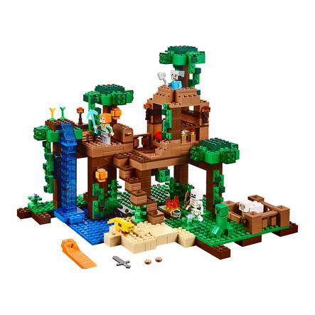LEGO® Minecraft™ - Domek na drzewie w dżungli 21125