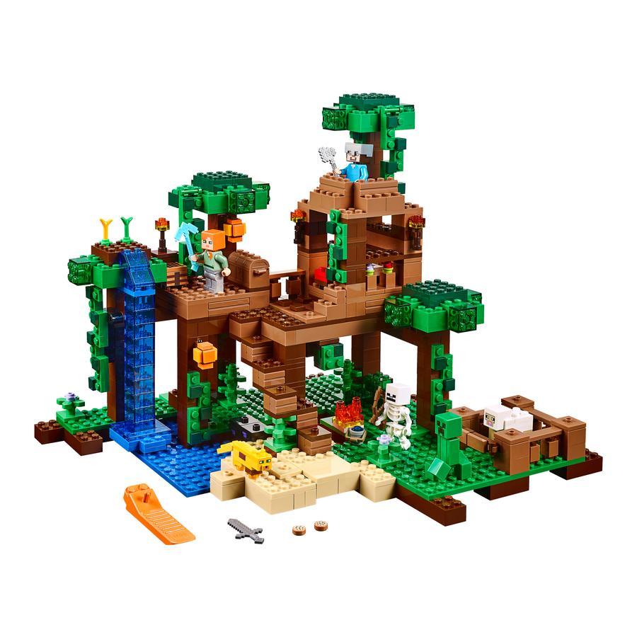 LEGO® Minecraft™ - La cabane dans l'arbre de la jungle 21125