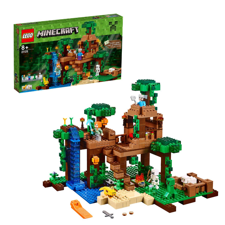 LEGO®  Minecraft™ - The Jungle Tree House 21125