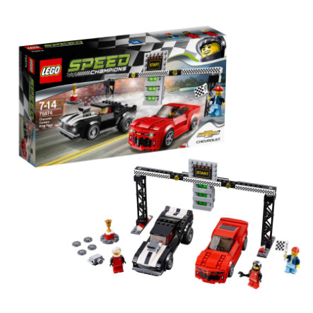 LEGO®  Speed Champions - Chevrolet Camaro Dragster 75874