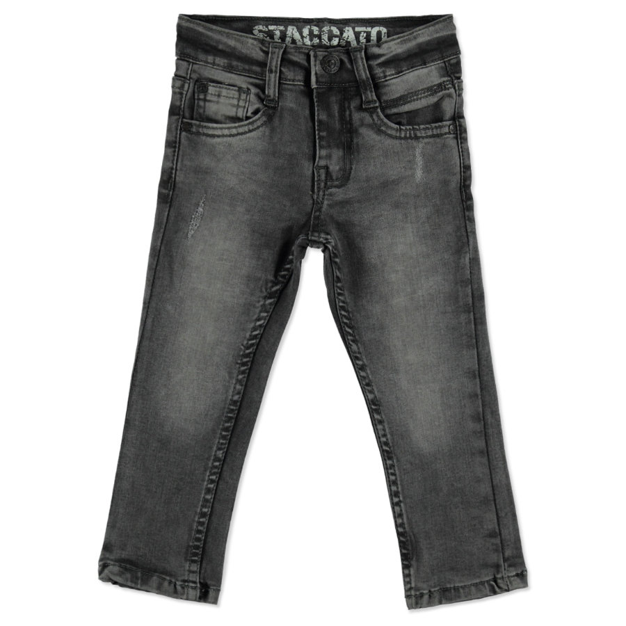 STACCATO Boys Skinny Jeans black denim
