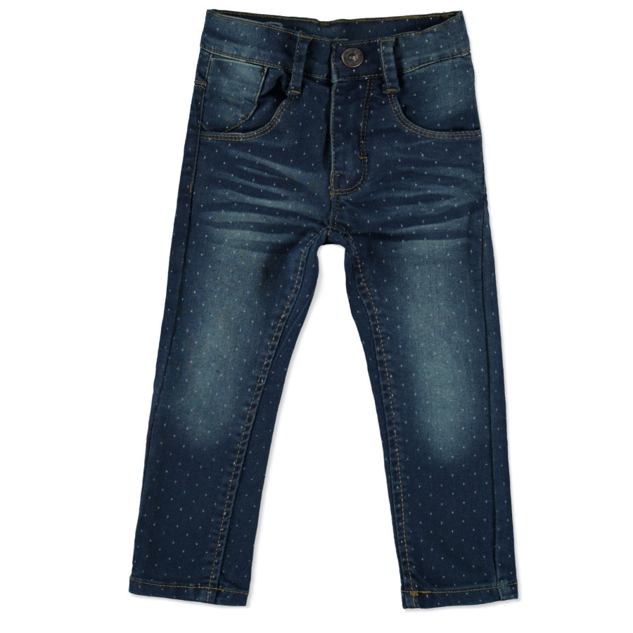 STACCATO Girls Jeans mid blue denim patter