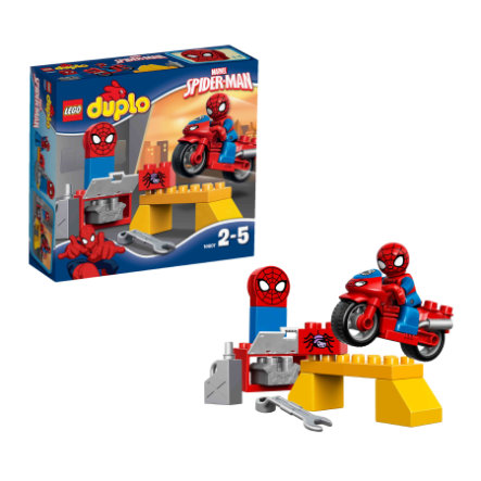 LEGO® DUPLO® Spiderman™ - Spider-Man – Motorrad-Werkstatt 10607