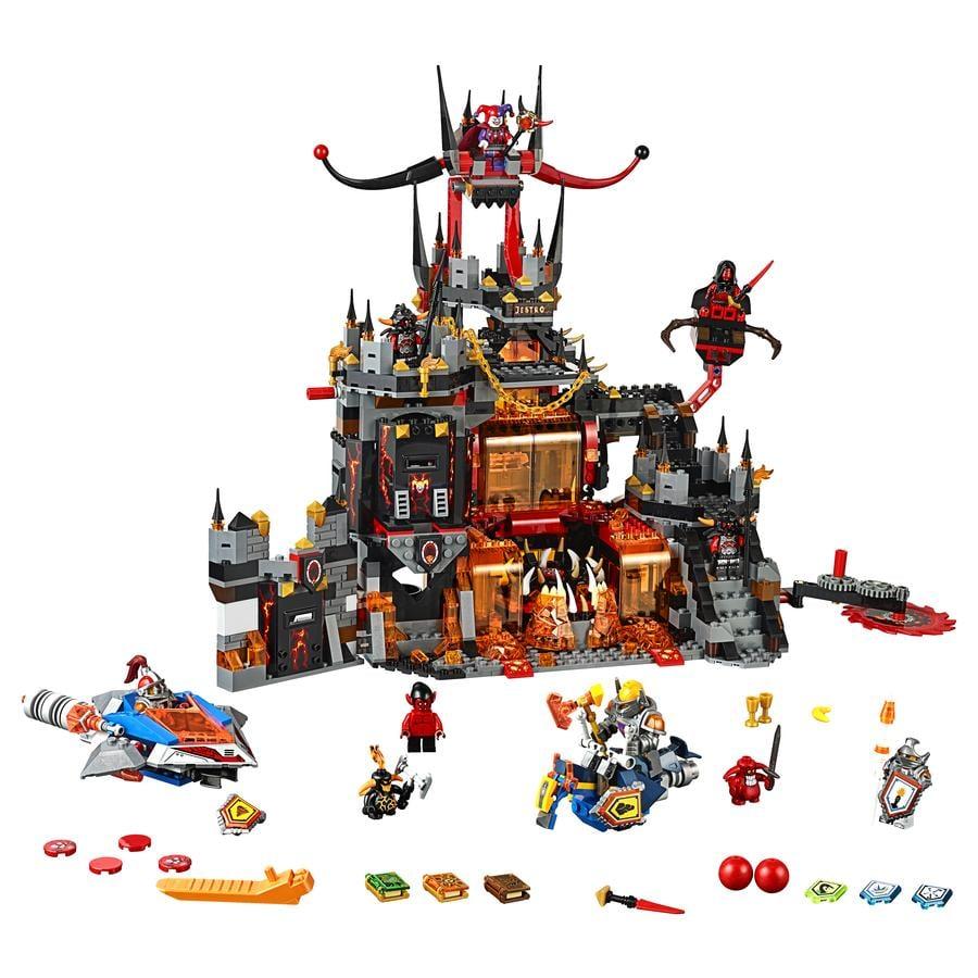 LEGO® Nexo Knights™ - Jestrovo sopečné doupě 70323