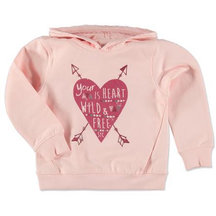 STACCATO Girl s sweatshirt à capuche rose clair mélangé