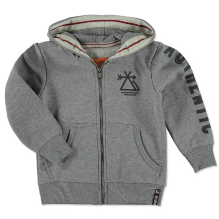 STACCATO Boys Sweatjacke light anthra melange