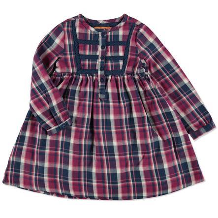 STACCATO Girl s robe à carreaux framboise
