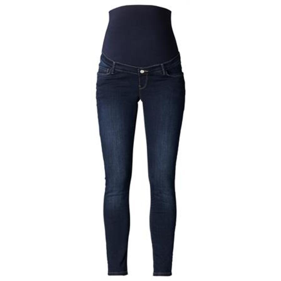ESPRIT Těhotenské džíny slim darkwash délka 32