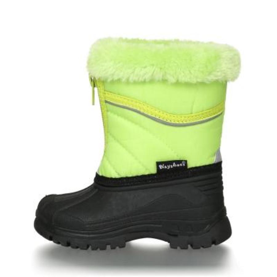 Playshoes Zipper boot grön