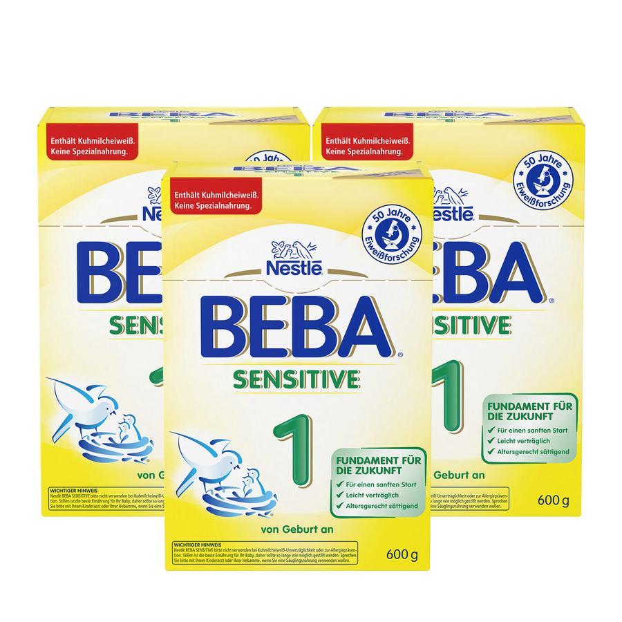 NESTLE BEBA Sensitive 1 3x600g