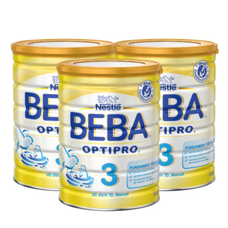 NESTLE Beba Pro 3 Follow-On Formula 3x800g