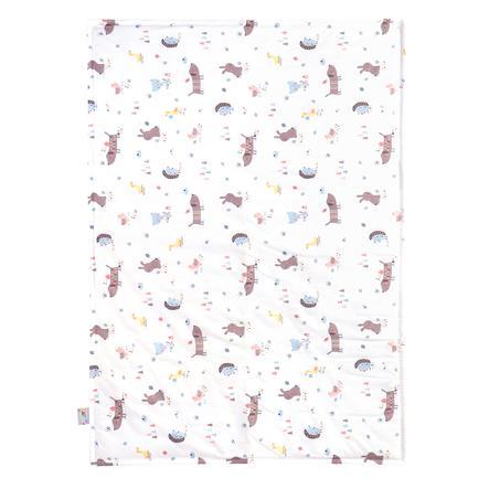 JULIUS ZÖLLNER Deken Jersey Crazy Animals 70 x 100 cm