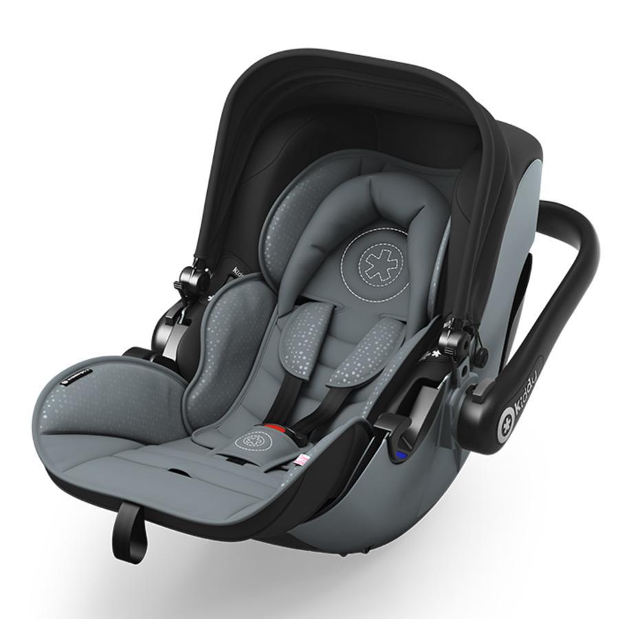 KIDDY Seggiolino Auto Evolution Pro 2, Steel Grey