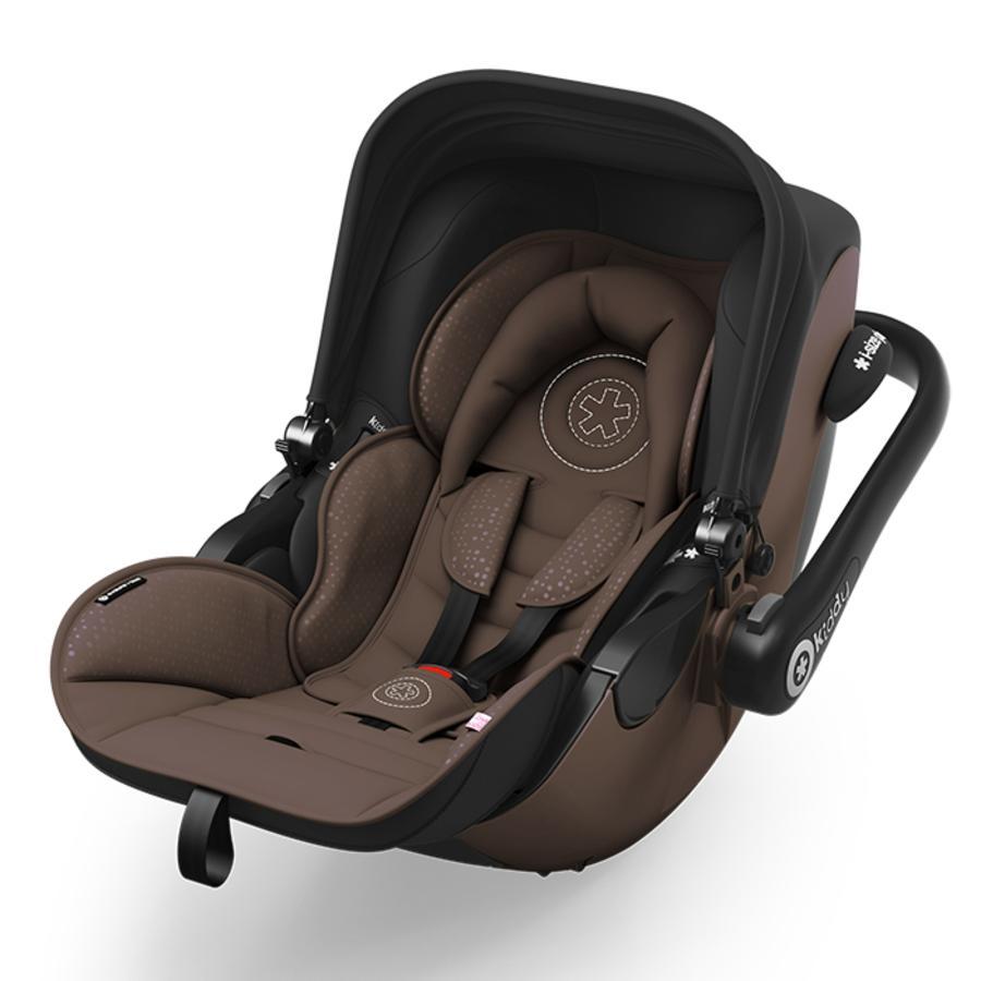Kiddy Infant Car Seat Evoluna I Size Nougat Brown Including Isofix Base 2