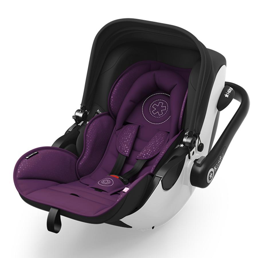 Kiddy Autostoel/Reiswieg Evoluna i-Size Poyal Purple inclusief Isofix Base 2