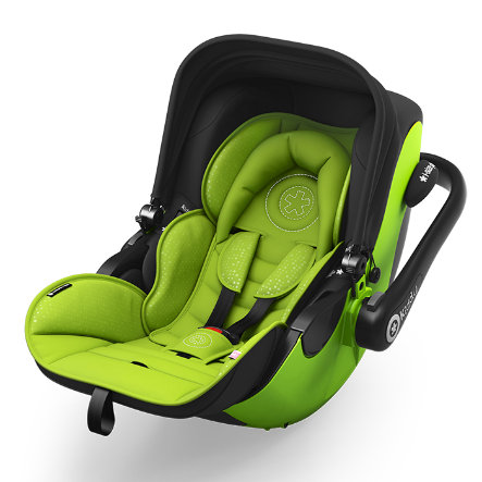 Kiddy Babyschale Evoluna i-Size Lime green inklusive Isofix Base 2