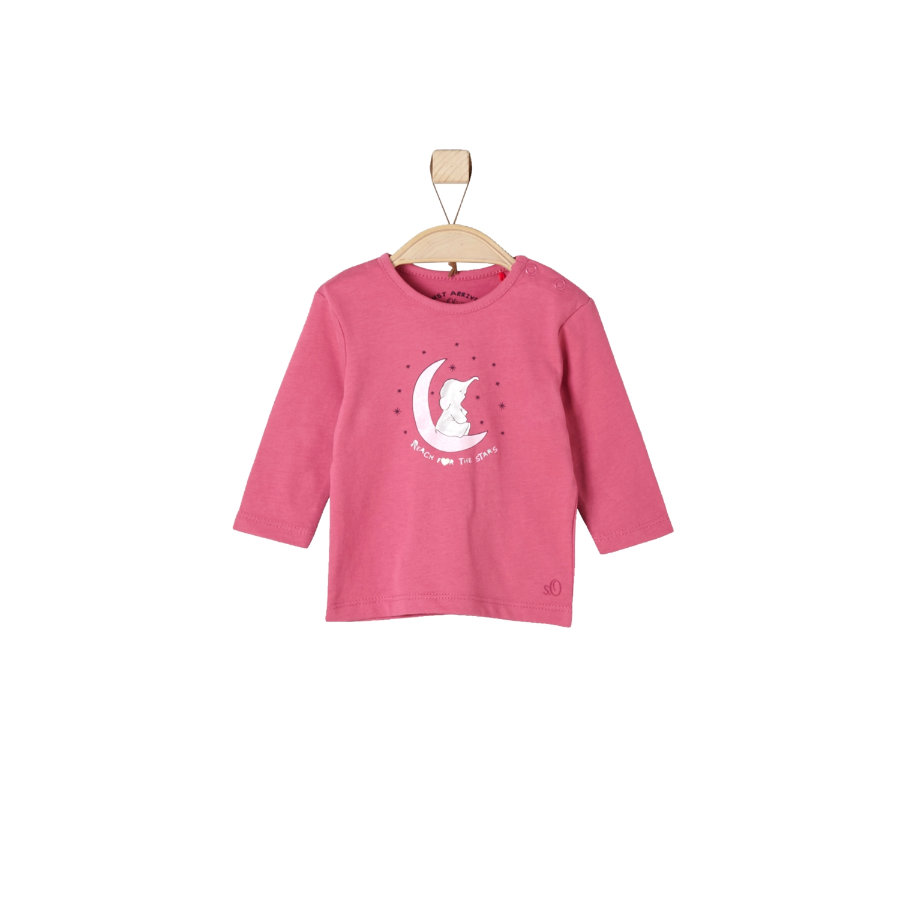s.Oliver Girls Longsleeve berry